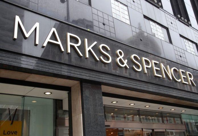 Marks and Spencer M&S new store Sacha Berendji