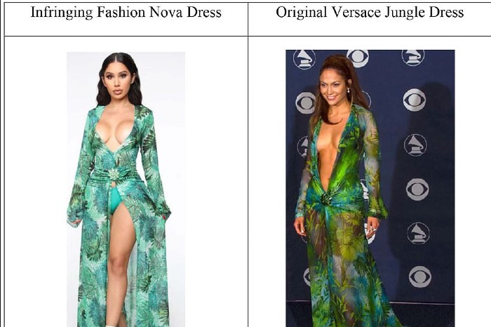 Versace Fashion Nova lawsuit
