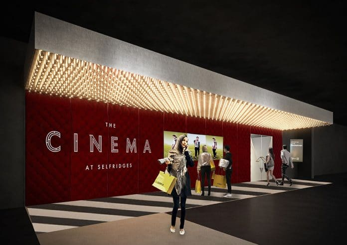 Selfridges cinema Simon Forster flagship experiential retail
