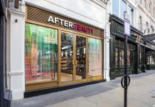 AFTERBeauty has opened a 'beauty playground' across a five-floor townhouse in Piccadilly London. Express treatments are on offer including  manicures, pedicures, body wraps, lash lifts & bespoke facials