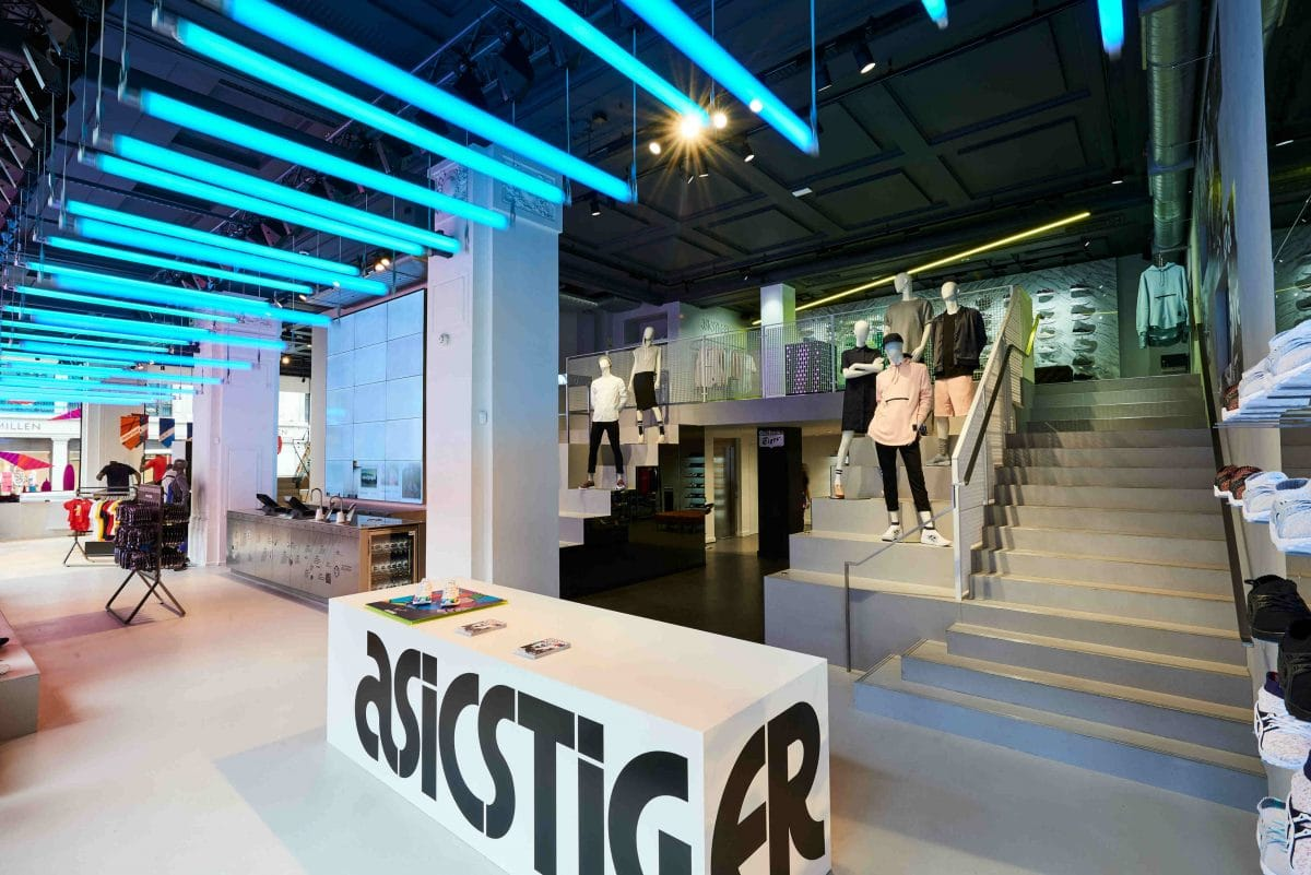 ASICS opens its biggest store in the world in London's Regent Street