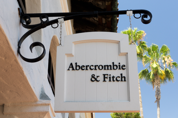 Abercrombie & Fitch has four stores in the UK, out of a global estate of 900.