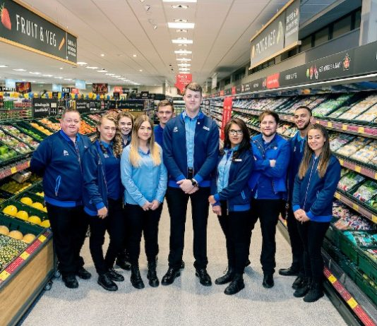 Aldi Giles Hurley pay rise expansion