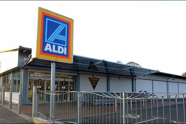 Aldi warehouse Kent