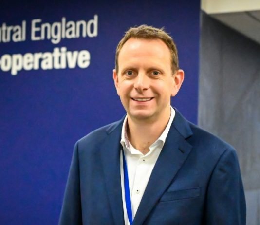 Central England Co-operative appoints Andy Peake as commercial director