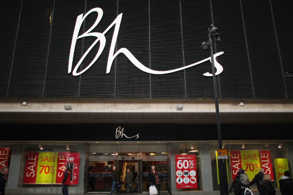 BHS Lennart Henningson Dominic Chappell Retail Acquisitions