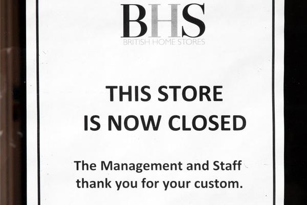 BHS report