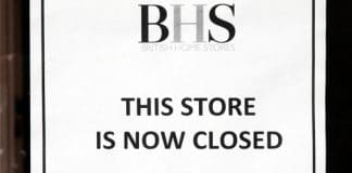 The sign that appeared at BHS stores when they shuttered their doors throughout the summer of 2016 during the administration process. Many organisations, including the Institute of Directors, have since called for more corporate governance rules for private businesses to avoid another collapse like BHS. (Image: Shutterstock)