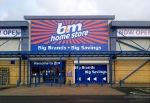 B&M pretax profits double in first half
