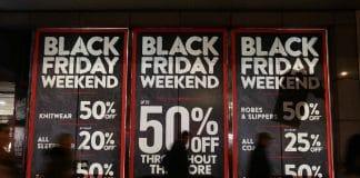 Black Friday footfall