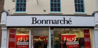 Bonmarché Philip Day Edinburgh Woollen Mill administration Parkash Singh Chima Helen Connolly