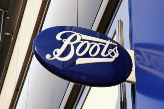Boots sales