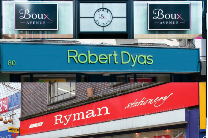 Theo Paphitis' Ryman & Robert Dyas grow but rent cuts sought for Boux Avenue