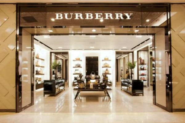 burberry retail