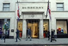 Burberry first quarter