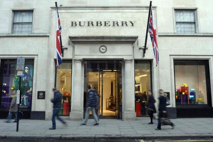 Burberry destroys
