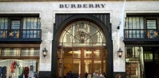 Burberry full year report
