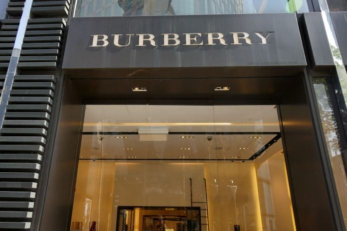 Burberry Q1 report