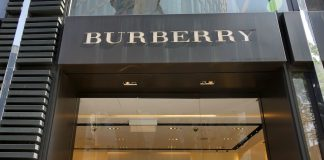 Burberry sales edge up in golden quarter