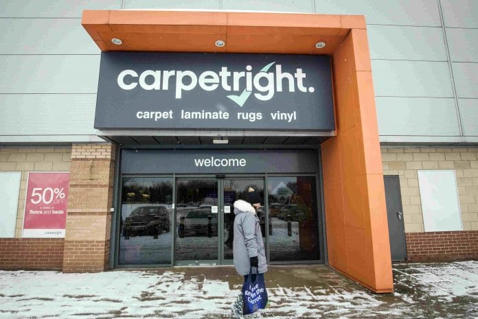 Carpetright to be taken over by Meditor