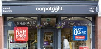 Carpetright profit warning