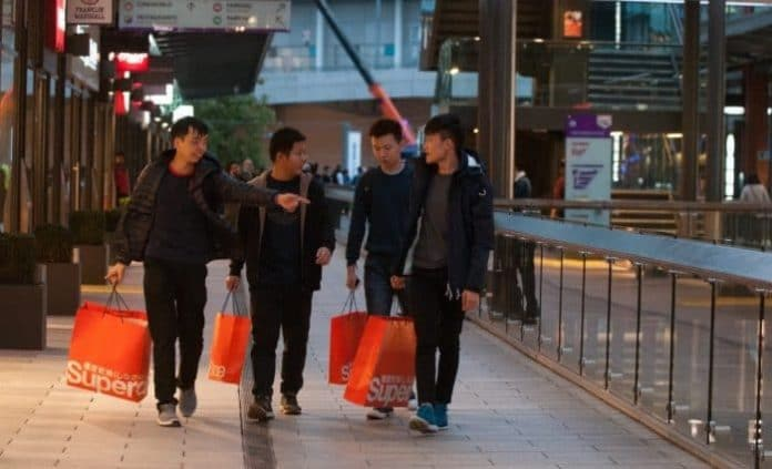 Tax free shopping experts have revealed that the UK is the leading European destination for hoards of Chinese shoppers anticipated during Golden Week, October 1-7. During the week there is expected to be a 4 per cent surge in shoppers.