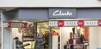 Clarks CFO