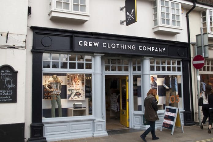 Crew Clothing CEO