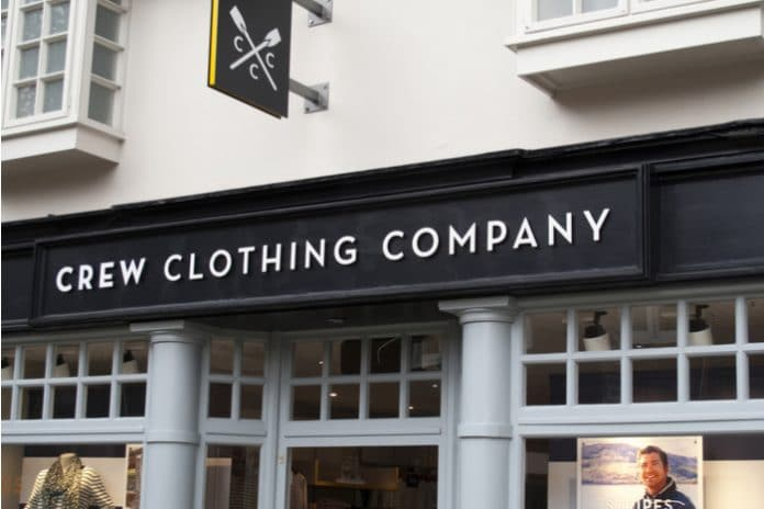 Crew Clothing brand director