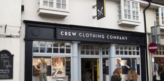 Crew Clothing Company posts 12% Christmas sales growth