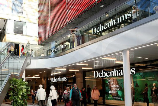 Debenhams credit rating