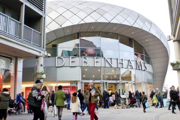 Debenhams rent cuts store closures CVA
