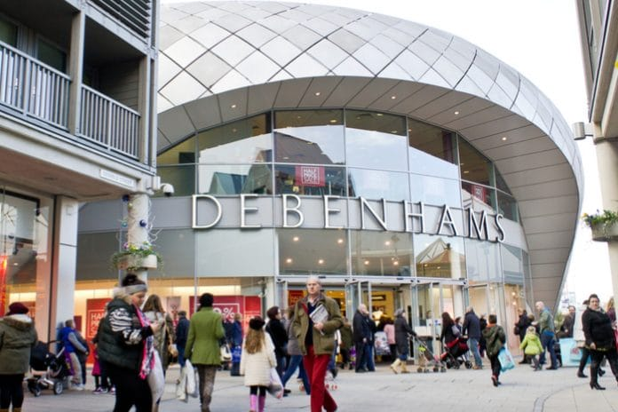 Debenhams profit warning