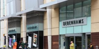 Debenhams property director Clive Bentley ahead of CVA store closures
