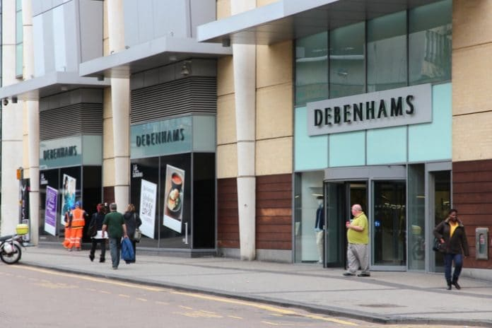 Debenhams property director Clive Bentley ahead of CVA store closures