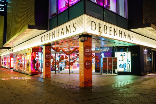 Sports Direct Debenhams