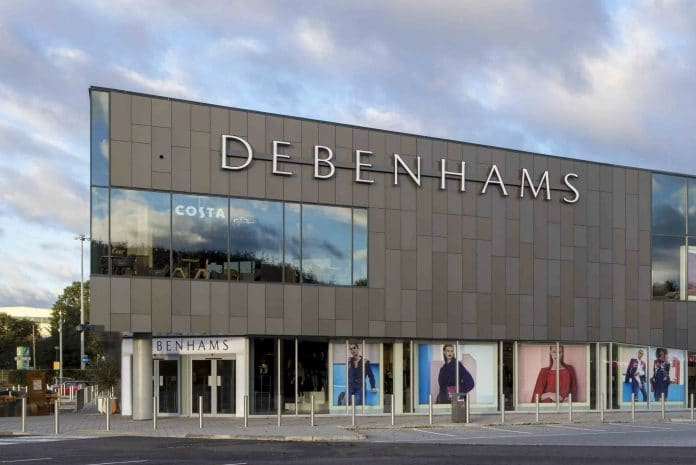 Debenhams womenswear