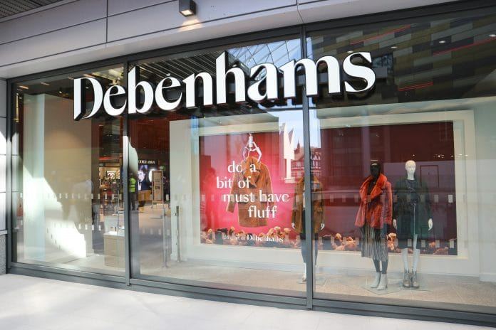 Debenhams retail director