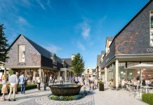 Plans have been unveiled for a new designer village near Cheltenham