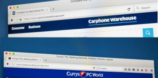 Dixons Carphone update