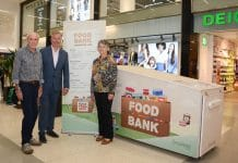 The Dolphin Shopping Centre in Poole is aiming to help the environment by cutting down waste with its new food bank. Situated outside the Marks & Spencer in the shopping centre, it hopes to encourage people to donate unwanted tinned and packaged food.