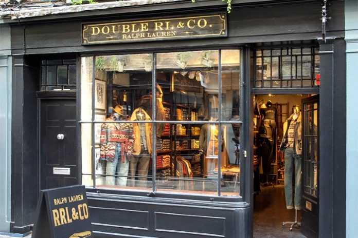 RRL Ralph Lauren debut UK store Carnaby Soho London Newburgh Quarter