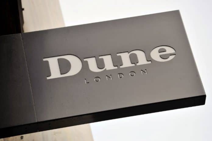 House of Fraser administration dents Dune profits