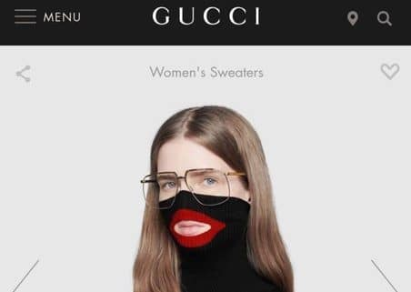 Gucci apologises & removes £688 blackface jumper - Retail