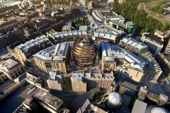 Edinburgh St James: Scotland's most significant retail development opening 2020