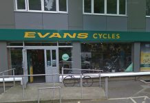 Halfrods Evans Cycles