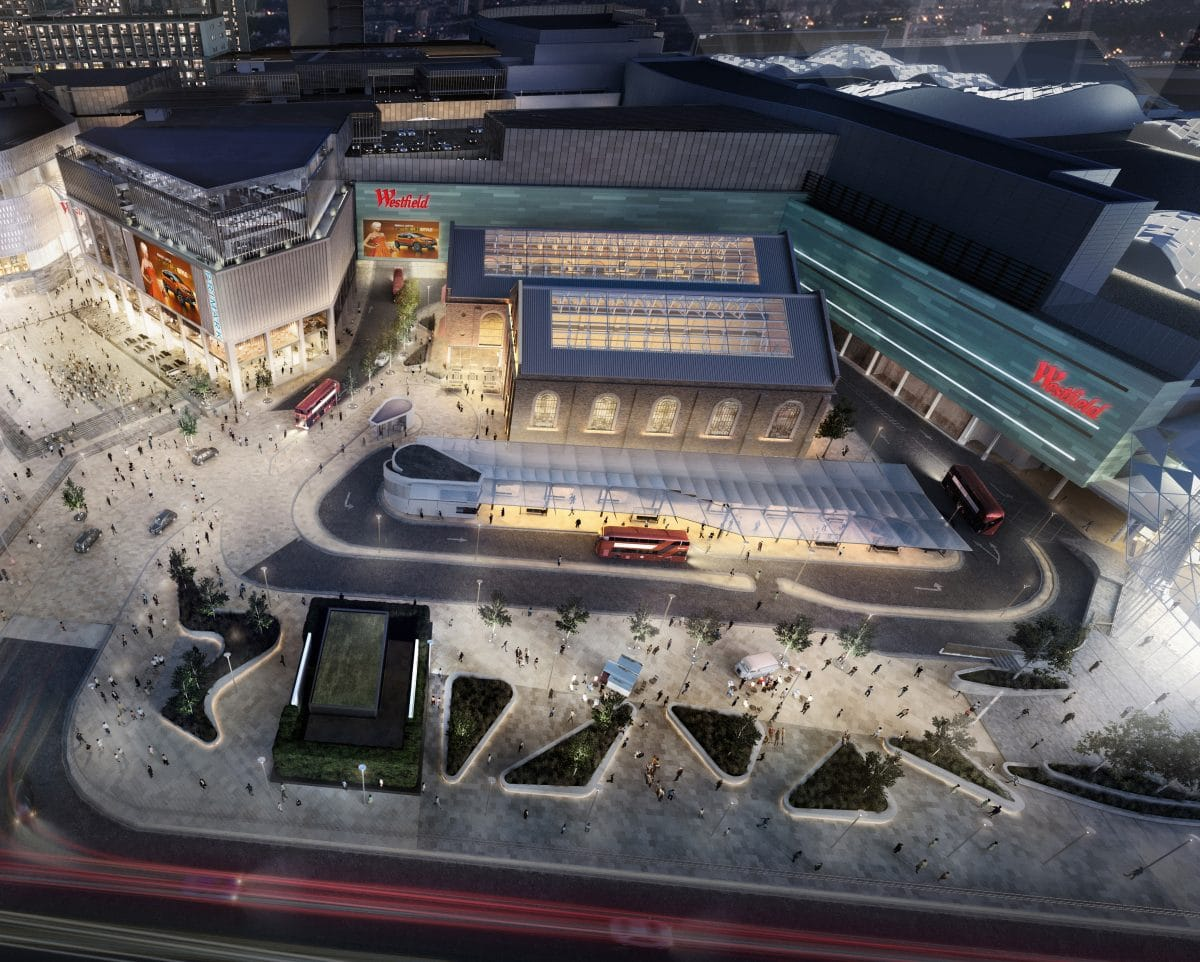 Westfield London event space