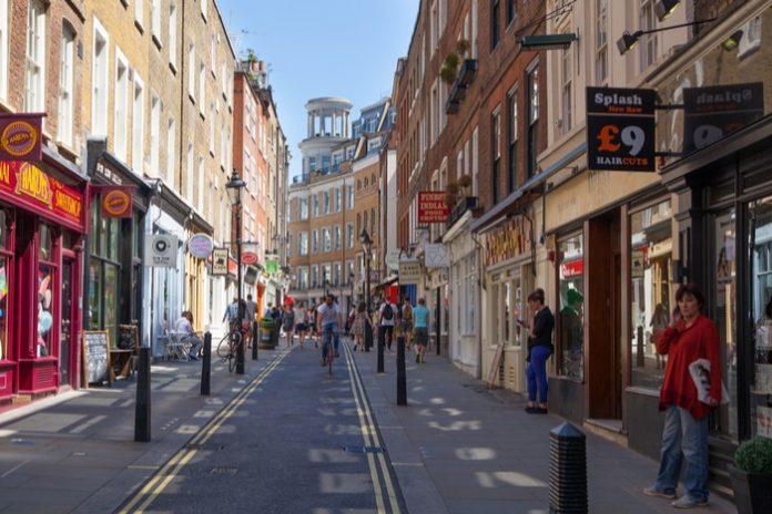UK high street government funding