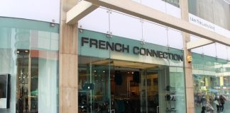 French Connection revenue down 53% during first half of 2020