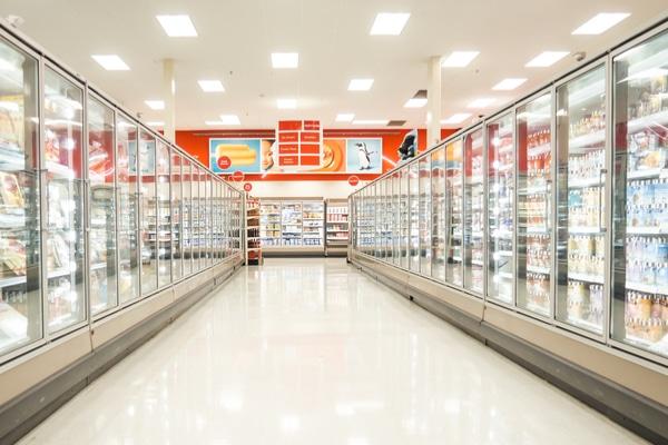 Frozen food sales
